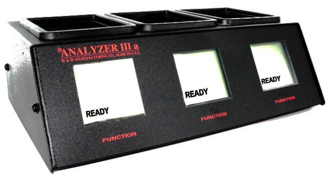 Analyzer IIIa (3 Bay Battery Conditioner/Analyzer) for BK Relm Radios