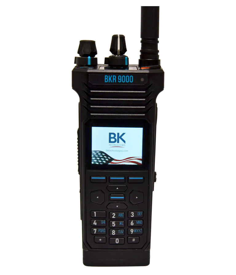 VHF, UHF, 700/800 Multi-band LMR Handheld Radio - Main View
