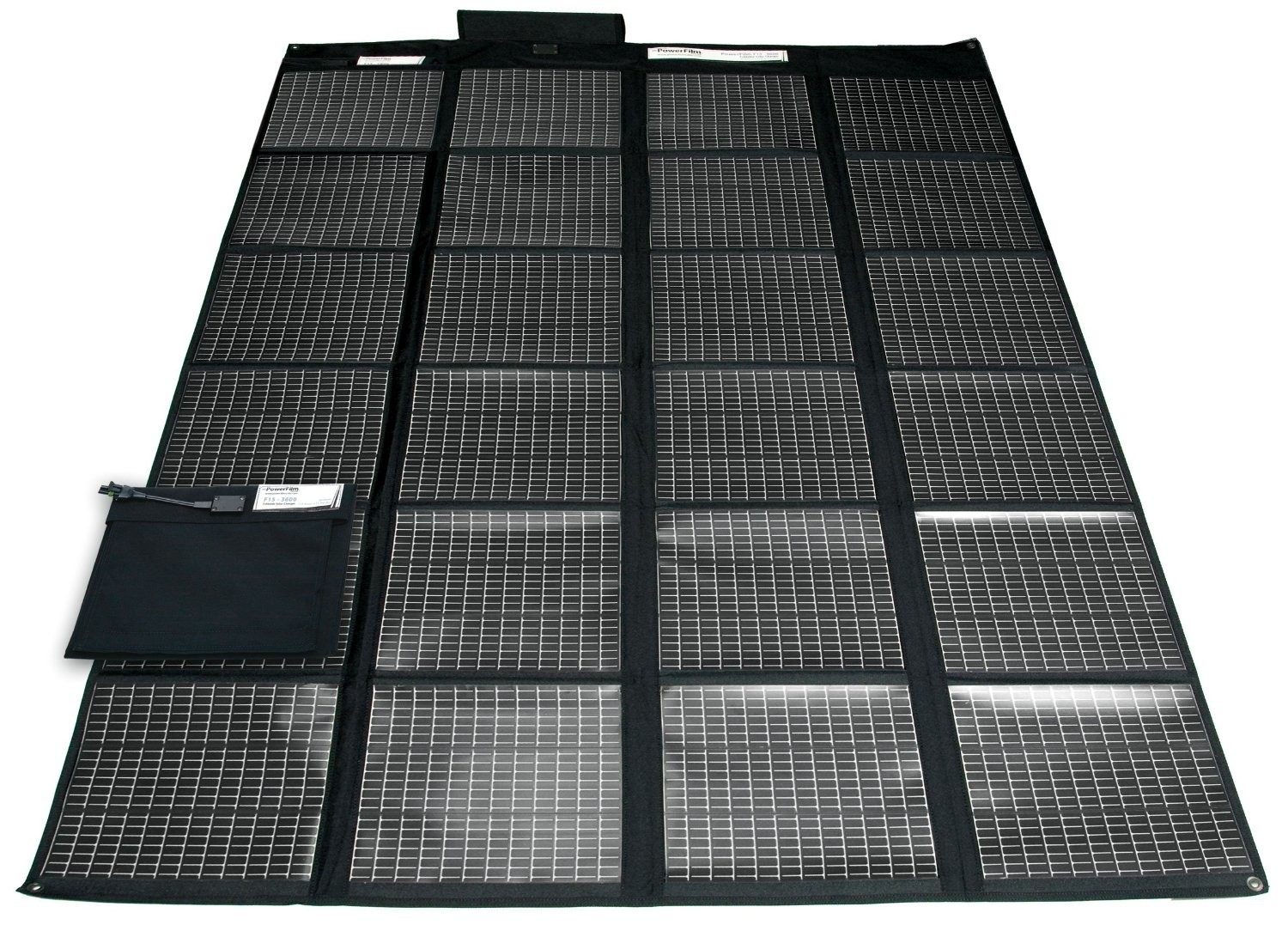 CHSO9R60 60 Watt Foldable Solar Panel with Female Cigarette Lighter Plug for RDPR EBS Battery Solar Charging