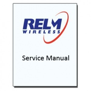 Service manual, KAA0002 - For RELM BK Radio KNG M Series