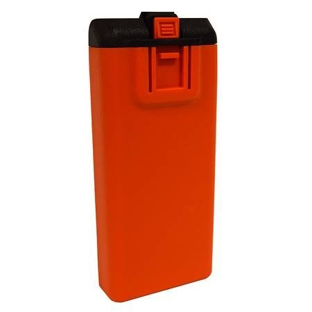 "KAA0120 Orange ""AA""  Clamshell for RELM BK Radio KNG"