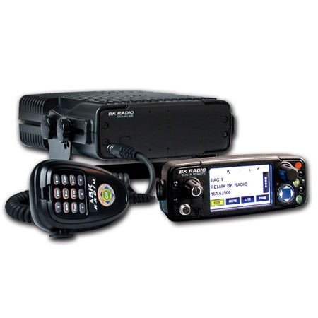 BK Radio KNG-M150R Digital Mobile Radio - Remote Mount, 5000 Channels, 50 Watt, P25