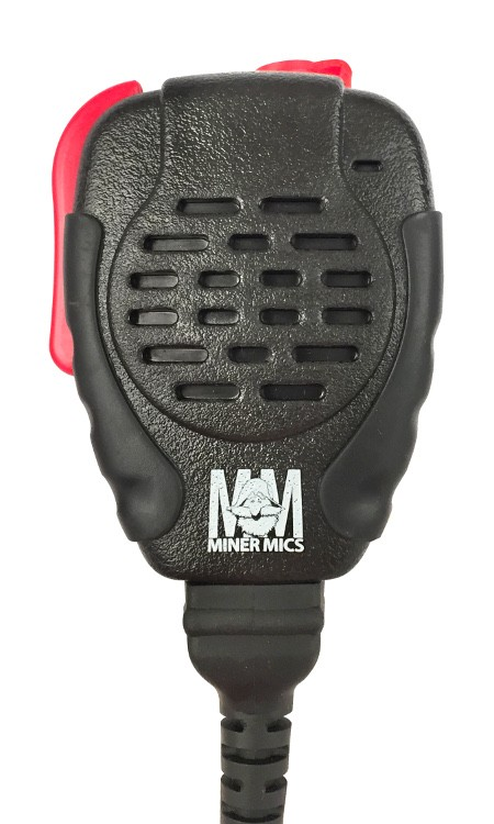 LAA0199, LAA0209 Bendix King Miner Mic Replacement Speaker Mic - Ruggedized, IP56 (Driven Rain) for DPH, GPH