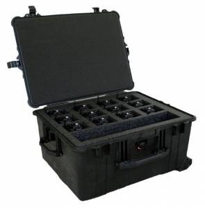 RDRCC Weather Proof Case to store 16 BK Radios
