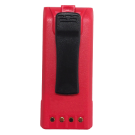 BADASS Red, 3600 mAh / Li-Ion Battery for BK Radio KNG