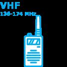 136-174 MHz for BK Radio BKR9000