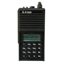 GPH5102X-CMD Bendix King Analog Portable Radio - Command Version. 500 Channels, 5 Watt, VHF 136-174 MHZ, Metal Case
