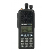 KNG-P150S Front View of BK Digital Portable Radio. P25 APCO, 512 Channels, 6 Watt, VHF 136-174 MHZ