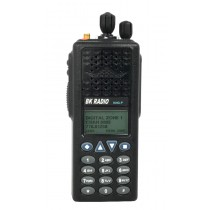 BK Radio Tier 3 KNG-P Series Digital Portable Radios - P25 APCO - 5000 Channels, VHF, UHF Low, UHF High, 700/800, Front View