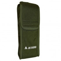 LAA0455 Green Nylon Holster With Belt Loop for RELM BK Radio DPH, GPH