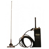The LAB0801 is an external antenna adapter kit for DPH, GPH, EPH Portable Radios.  The kit includes the LAA0801A Radio Adapter, G8PI magnetic mount & the Flexible whip Antenna.