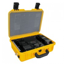 Rapid Deployment Portable Repeater, RELM BK Radio RDPR - Yellow, 5 Watt Package, Front View