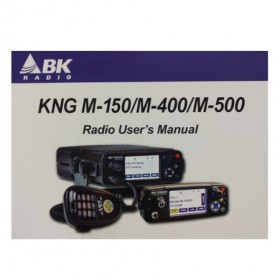 7001-31028-900 Owners Manual for KNG-M