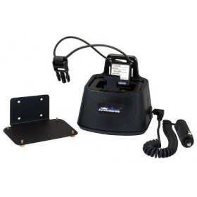 Black Vehicle Charger for Bendix King DPH & GPH Radios