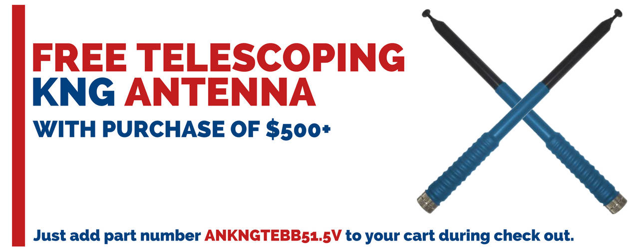 51.5 inch Telescoping Antenna for your Bendix King Radio